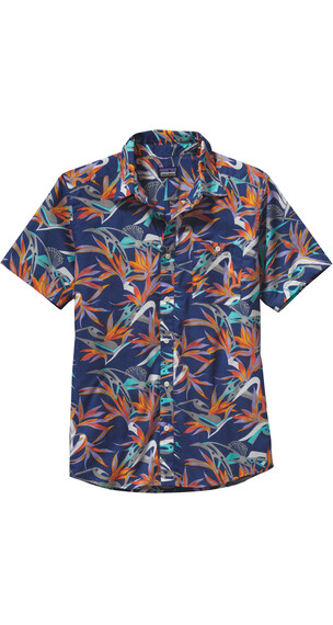 Patagonia M's Go To Shirt Piton Paradise: Channel Blue